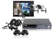 Готовые комплекты видеонаблюдения с установкой